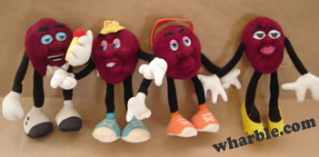 California Raisins: Hardee's Series 3