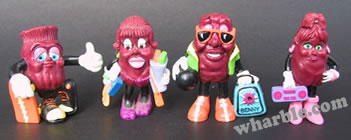 California Raisins: Hardee's Series 4