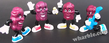 California Raisins: Hardee's Series 5