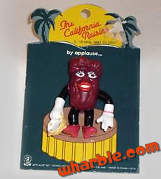 California Raisins Pin