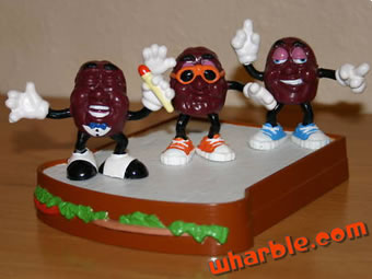 California Raisin Sandwich Stage