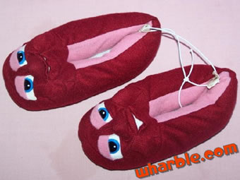 California Raisins Slippers