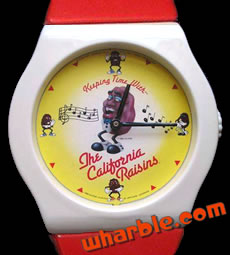 California Raisins Wall Clock