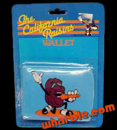 California Raisins Wallet
