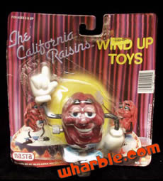 California Raisins Wind-Up Walker