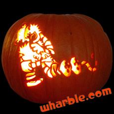 Calvin & Hobbes Pumpkin
