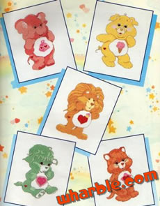 Care Bear Cousins Cross Stitch