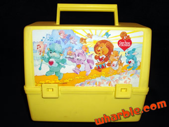 Care Bear Cousins Lunch Box
