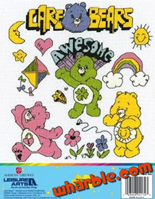 Care Bears Cross Stitch