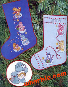 Care Bears Christmas Cross Stitch