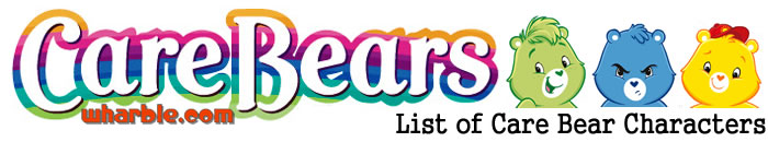 Care Bears Character List
