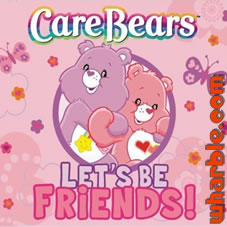 Care Bears Let's Be Friends CD