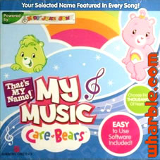 Care Bears My Music - That's My Name CD