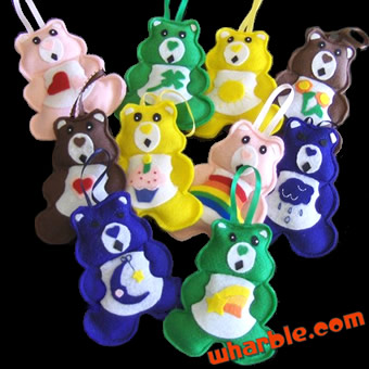 Care Bears Ornaments