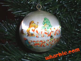 Care Bears Satin Ball Ornament