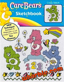 Care Bears Sketchbook Cross Stitch