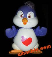 Poseable Cozy Heart Penguin
