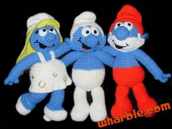 Crochet Smurfs