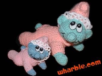 Crochet Baby Smurf