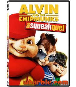 Alvin & the Chipmunks: The Squeakquel DVD