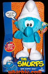 Plush Dancing Smurf Doll