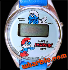 Digital Smurf Watch