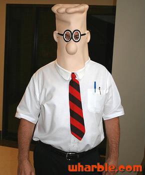 Dilbert Costume