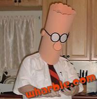Dilbert Mask