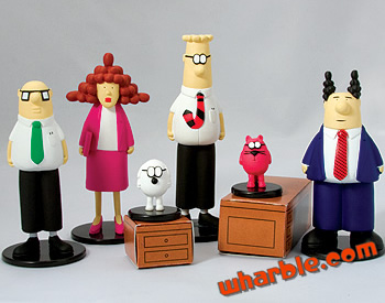 Dilbert Action Figures Set