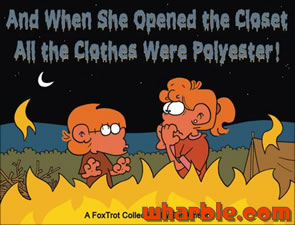 FoxTrot Book - And When She Opened the Closet, All the Clothes Were Polyester!