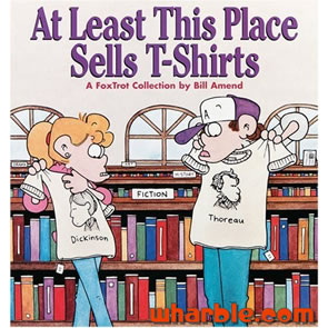 FoxTrot Book - At Least This Place Sells T-Shirts