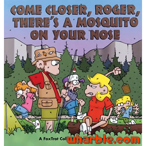 FoxTrot Book - Come Closer, Roger, There's a Mosquito on Your Nose