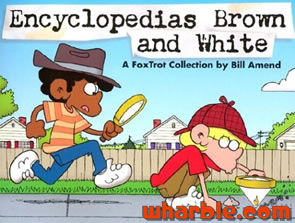 FoxTrot Book - Encyclopedias Brown and White