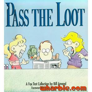 FoxTrot Book - Pass the Loot