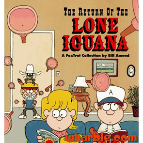 FoxTrot Book - The Return of the Lone Iguana