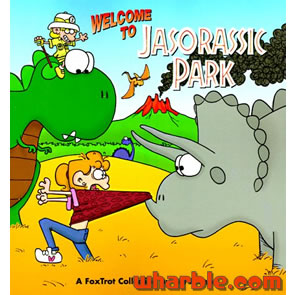FoxTrot Book - Welcome to Jasorassic Park