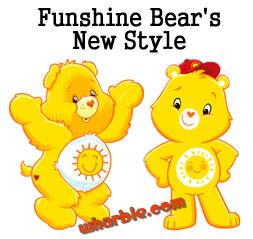 Funshine Bear's New Style