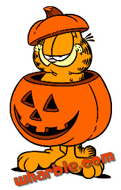Garfield Pumpkin Surprise