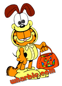 Garfield Trick-or-Treating