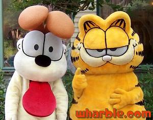 Garfield & Odie Mascots