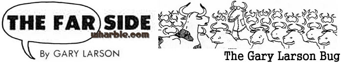 Gary Larson Bug Logo