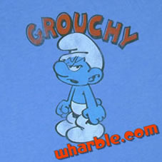Grouchy Smurf T-Shirt