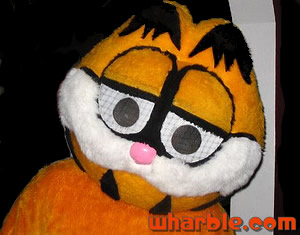 Handmade Garfield Costume