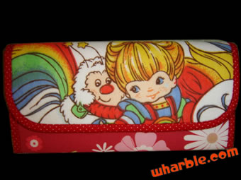 Handmade Rainbow Brite Wallet