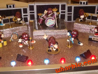 Handmade California Raisins Stage