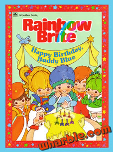 Rainbow Brite: Happy Birthday Buddy Blue