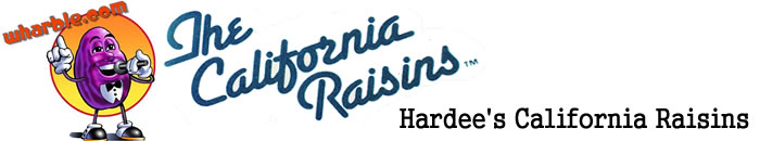 Hardee's California Raisins