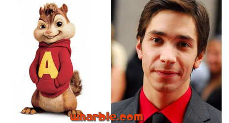 Justin Long as Alvin Chipmunk