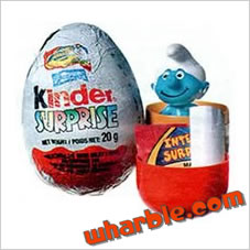 Kinder Surprise Smurfs