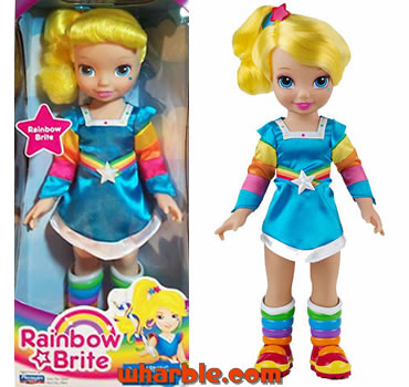 Large Playmates Rainbow Brite Doll